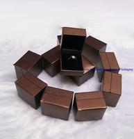 Express FREE Jewelry Display and Packaging Ring Box Small Decoration Storage Casket Container 120pcs