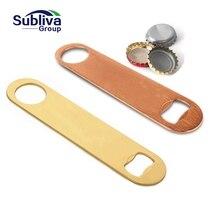 High quality Multipurpose Stainless Steel Bottle Opener Bar Beer tool Blade Openers