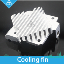 Free shipping 3D printer parts accessories Upgrade Titan Aero Heatsink 1.75mm/3mm for Titan extruder V6 Hotend Reprap Prusa