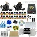 ITATOO Tatuagem Kit Máquina de Tatuagem Barato Definir uma Caneta Kit de Tatuagem Máquina de Tinta Suprimentos Arma Temperary TK100001 Arma Profissional
