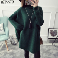 YiZiKKCO Brand Woman Sweaters Pullovers 2016 New Autumn Winter Knitted Sweater Womens Pullover Pull Femme Sweter Mujer WHD435