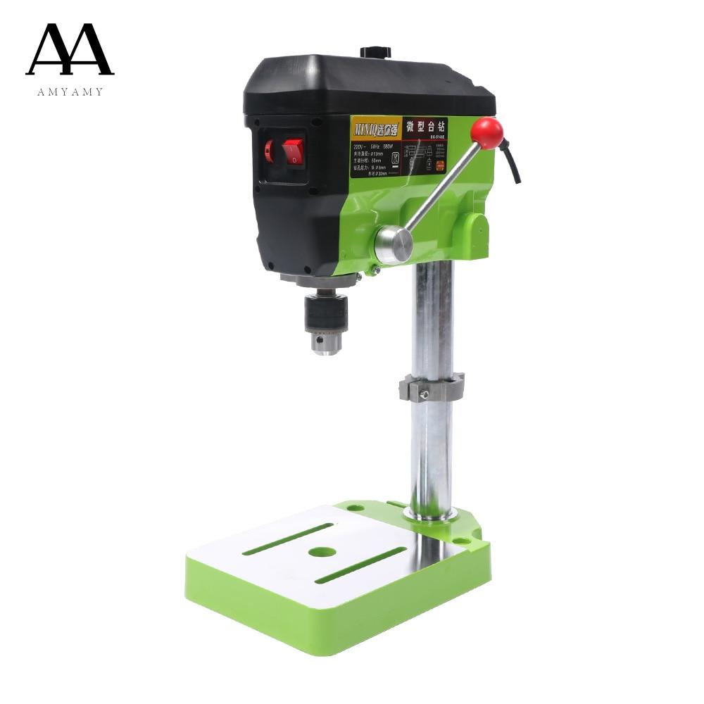 AMYAMY  Mini Drill Press Bench Small Drill Machine Work Bench with 5 Speed Adjustable  цены