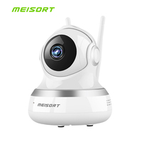 Meisort 1080P IP Camera Wireless Home Security Surveillance Camera Wifi Night Vision CCTV Camera Baby Monitor