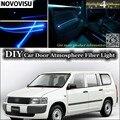 Нововису для TOYOTA Passo  для Daihatsu Sirion Boon  для Subaru Justy  комнатный светильник  атмосферное волокно  оптический ленточный светильник s