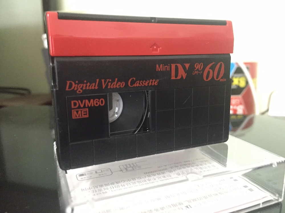 Wholesale 5 Pcs Blank Authentic SP60 / LP90 Minutes DVM60  Mini DV Digital Video Recording Cassette Tapes. 1