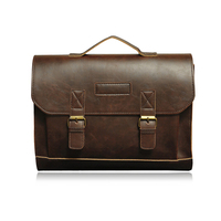 Casual Brand Design Genuine Leather Men Handbags Business Satchels Bags Mens Top Handle Bags