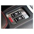 Автомобильный Интерьер Ремонт Нержавеющей Стали Сиденья Кнопку Отопление Декоративная Рамка Toyota TRD ИППП Изменение Накладка для Subaru Outback 86
