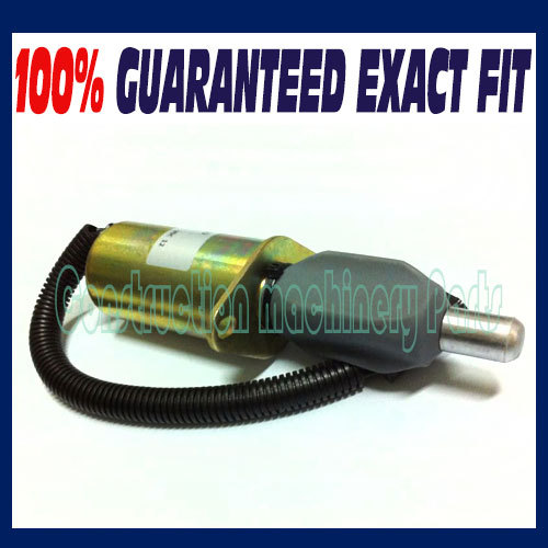 Fast free shipping, 3921978 3918600 TJG130805 Fuel Shutdown Solenoid Valve 12V 3924450 2001es 12 fuel shutdown solenoid valve for cummins hitachi