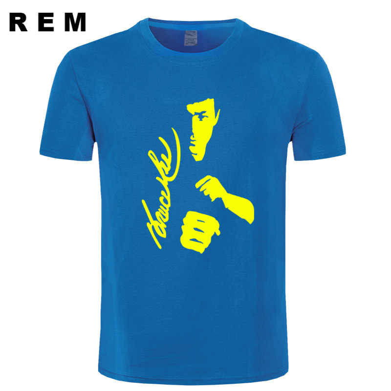 528aefbae4d ... men Fashion T Shirt Cotton Top New Summer Tee Shirt Homme Bruce Lee  Printed Casual women ...