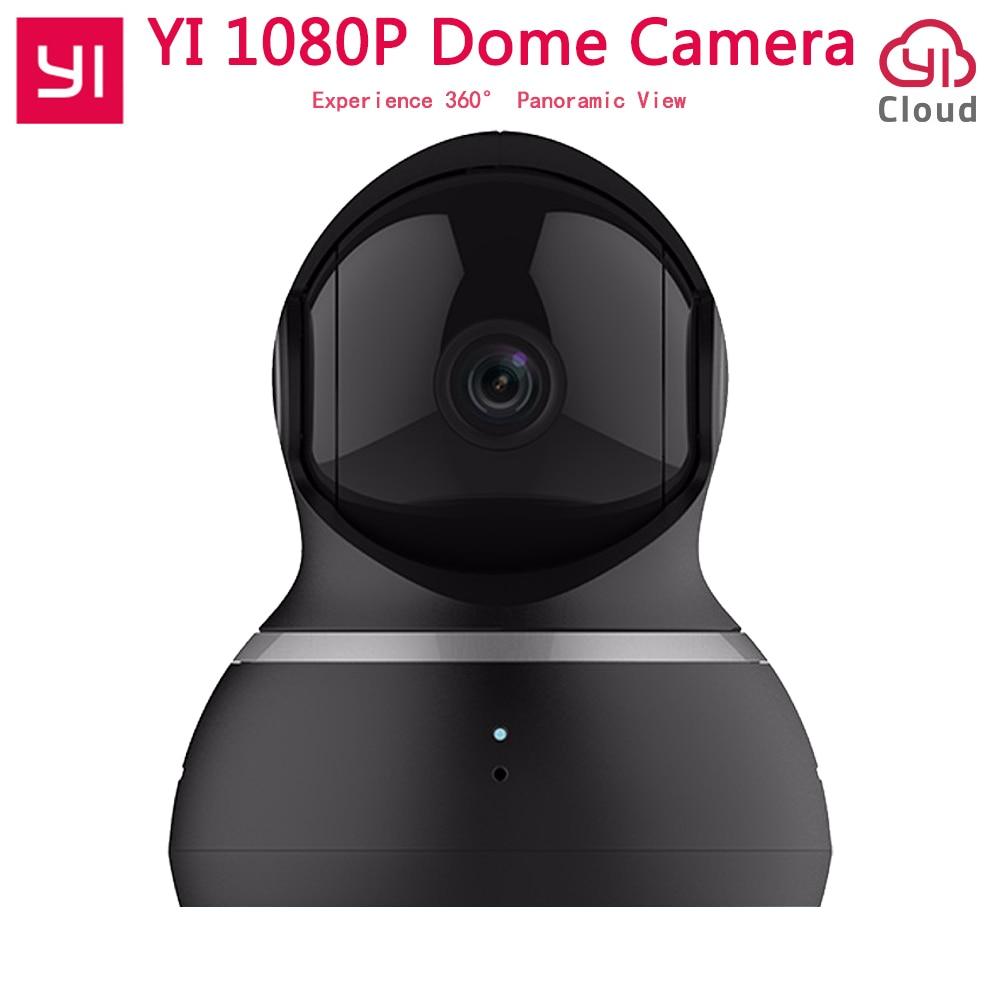 [International Edition] Xiaomi Yi Dome Camera 1080P FHD 360 degree 112 wide-angle Pan-Tilt Control Two-way Audio YI Dome Camera