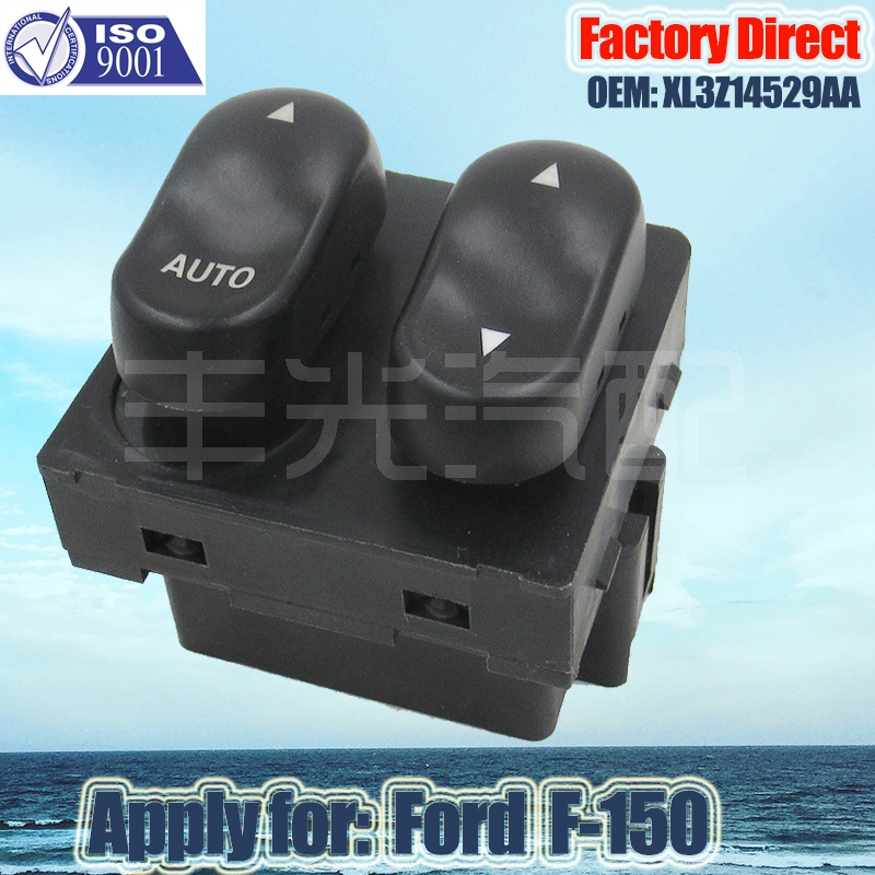Factory Direct Auto Window Switch Power Apply For Ford F150 F250 XL3Z14529AA 9Pins XL3Z-14529-AA