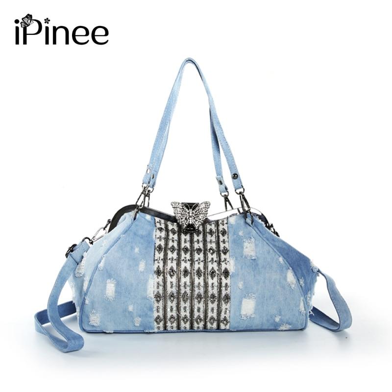 iPinee New Arrival Butterfly Luxury Bags Women Fashion Messenger Bags Brand Design Women s Shoulder Bags