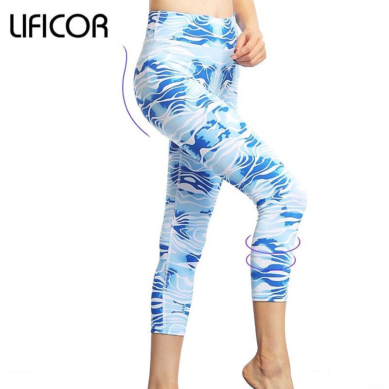Pantalones de yoga de las mujeres de fitness correr leggings deportes - Ropa deportiva y accesorios
