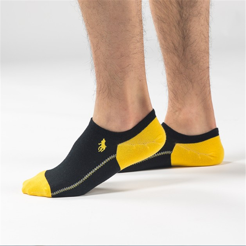 Pier Polo Calcetines Hombre Fashion Mens Casual Socks Cotton Deodorant Happy Manufacturers Promotions