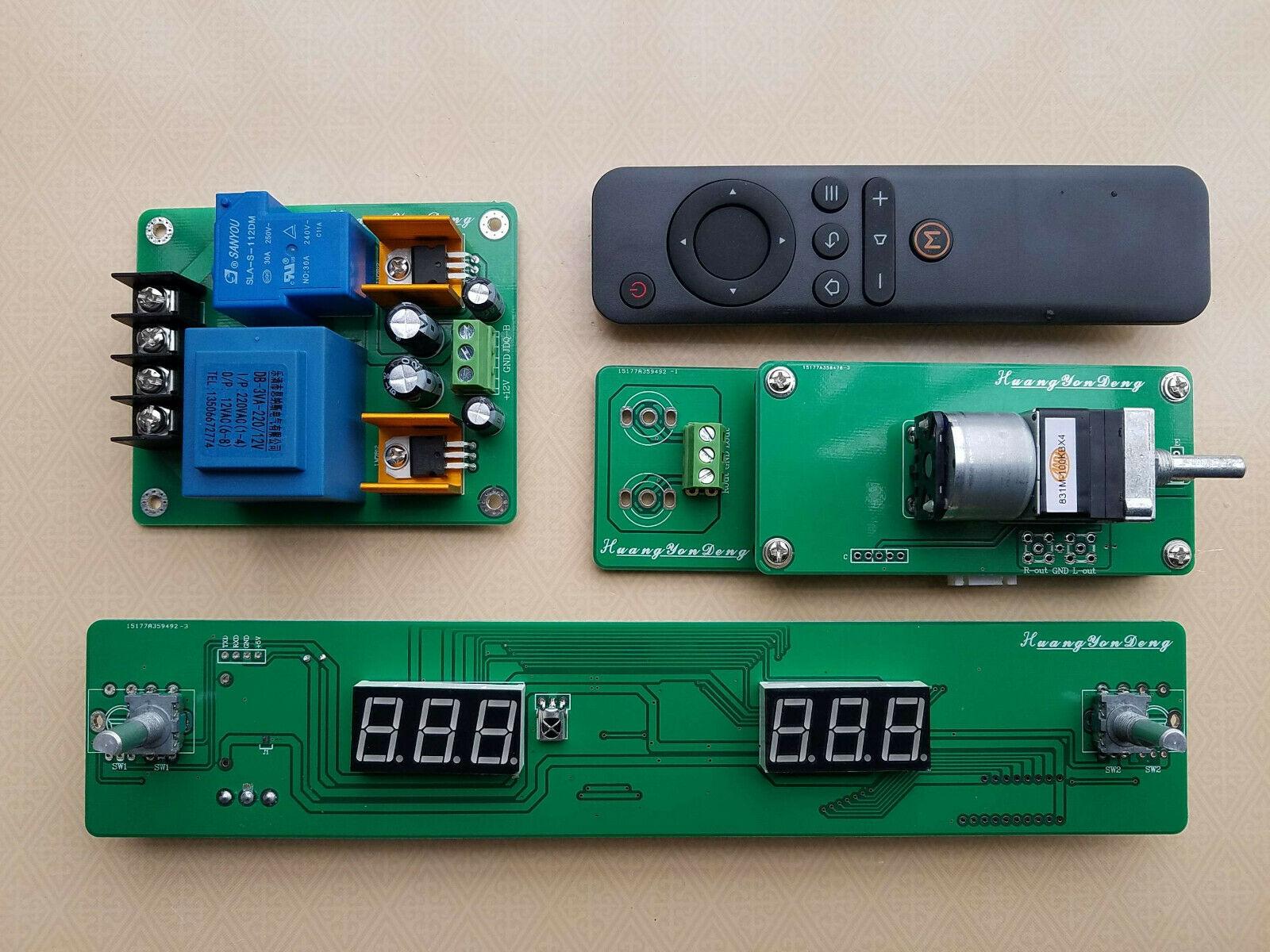 GZLOZONE Hiend ALPS Motor Remote Volume Control Board With Display (4 Way Input) L14-69GZLOZONE Hiend ALPS Motor Remote Volume Control Board With Display (4 Way Input) L14-69