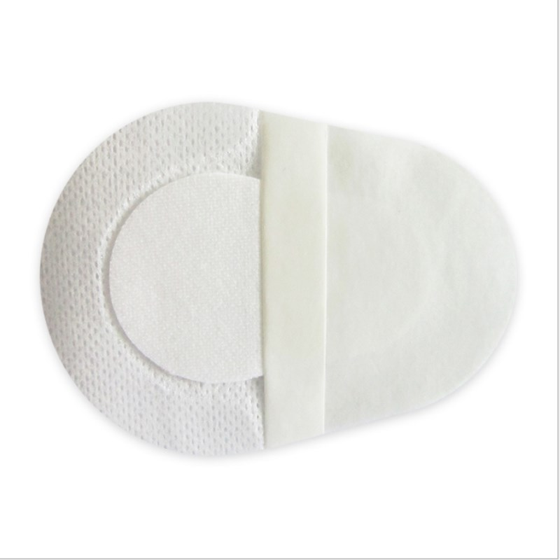 20 Pcs 8.2x5.7cm White Breathable Eye Patch Band Aid Medical Sterile Eye Pad Adhesive Bandages Wound Dressing First Aid Kits