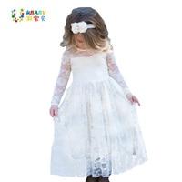 Ytd1352 Girl Lace Long Dress