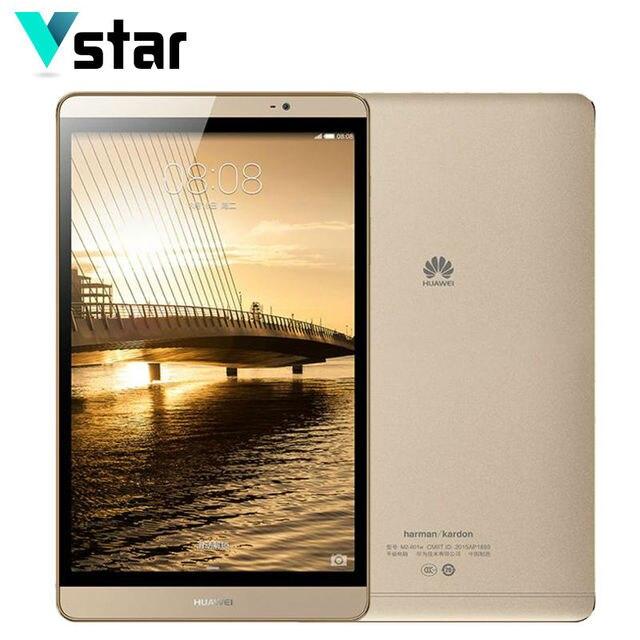 Оригинал Huawei Mediapad 8.0 Дюймов WIFI/LTE Таблетки Металла Кирин 930 Окта основные 64 ГБ ROM 3 ГБ RAM 8.0MP Нескольких языков