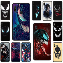 Marvel Venom Newest Super Hero Soft Silicone Phone Cover for Xiaomi Mi 8 9 SE A2 Lite 6 9 A1 Mix 2s Max 3 F1 9T A3 Pro CC9 CC9e(China)