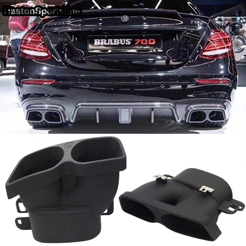 For Brabus Style Exhaust Pipe Ler Mercedes Benz C Cl W205 C63 Amg C180 C200 C250 C300