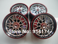1/10 RC Car accessories wheel Hub/wheel Rims  for 1:10  RC racing car 4pcs/set  free shipping