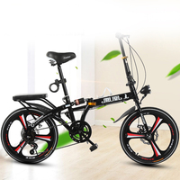 k2 2019 New16 inch and 20 inch folding bicycle for adults Ultra light speed portable children bicycle for boys and girls