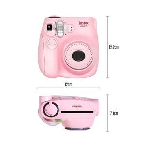 Image 3 - Fujifilm Instax Mini Film caméra Mini7c Mini 7C appareil photo instantané moins cher que Instax mini8 mini9 anniversaire noël nouvel an cadeau