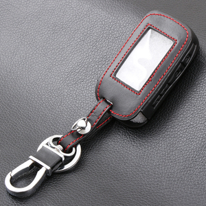 Image 4 - E60 E90 Deri Anahtarlık Kapak Kılıfları StarLine E60 E90 E63 E93 E95 E66 E96 LCD Uzaktan Kumanda Anahtarlık verici