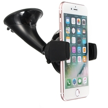 2 in 1 Universal Windshield Mount Phone Holder Wireless Car Charger Dock Bracket Power Charging For Samsung Smart Mobile Phones