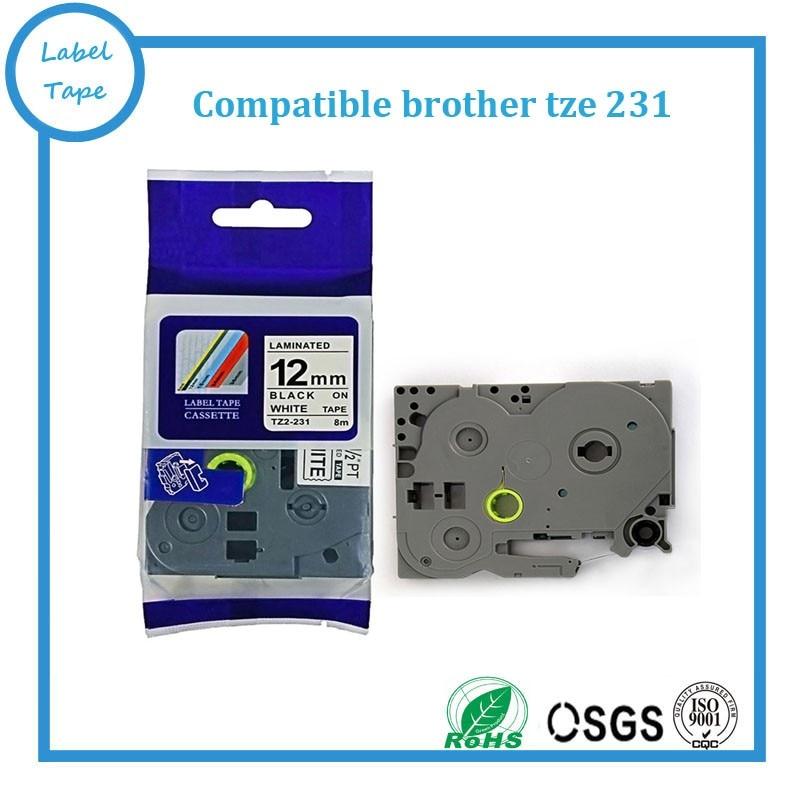 Gratis verzending 20 stks / partij compatibel brother tz cassette - Office-elektronica