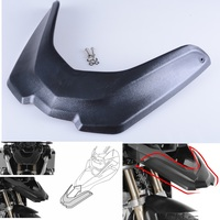 NEW Black Motorcycle Accessories Front Fender Beak Extension Extender Wheel Cover Cowl For BMW R1200GS LC