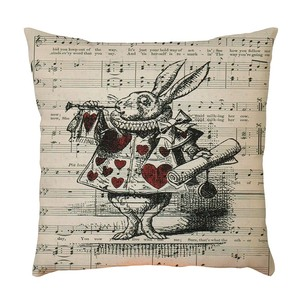Image 5 - Exquisite Pattern Flax Pillowcase Cushion Cover Sofa Home Car Decor Polyester Decorative Pillowcases Square 45*45cm Pillow Cover