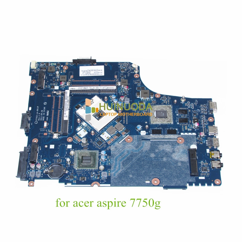 цена на NOKOTION P7YE0 LA-6911P MBRNA02001 MB.RNA02.001 For acer aspire 7750G ATI HD 6800M HM65 DDR3