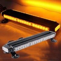 Двусторонняя 20 ''автомобильный светодиодные огни Offroad бар аварийного безопасности Предупреждение пожарный трактора сельскохозяйственные