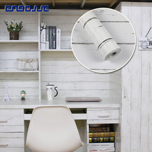 цена 0.45x10M College Dormitory Wood Wall Stickers Cabinet Table Furniture Sticker Bedroom Kitchen Waterproof Self Adhesive Wallpaper онлайн в 2017 году
