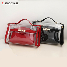 Summer Women Shoulder Crossbody Bags New Fashion Small Handbags Transparent bag Female Ladies hand sac a main