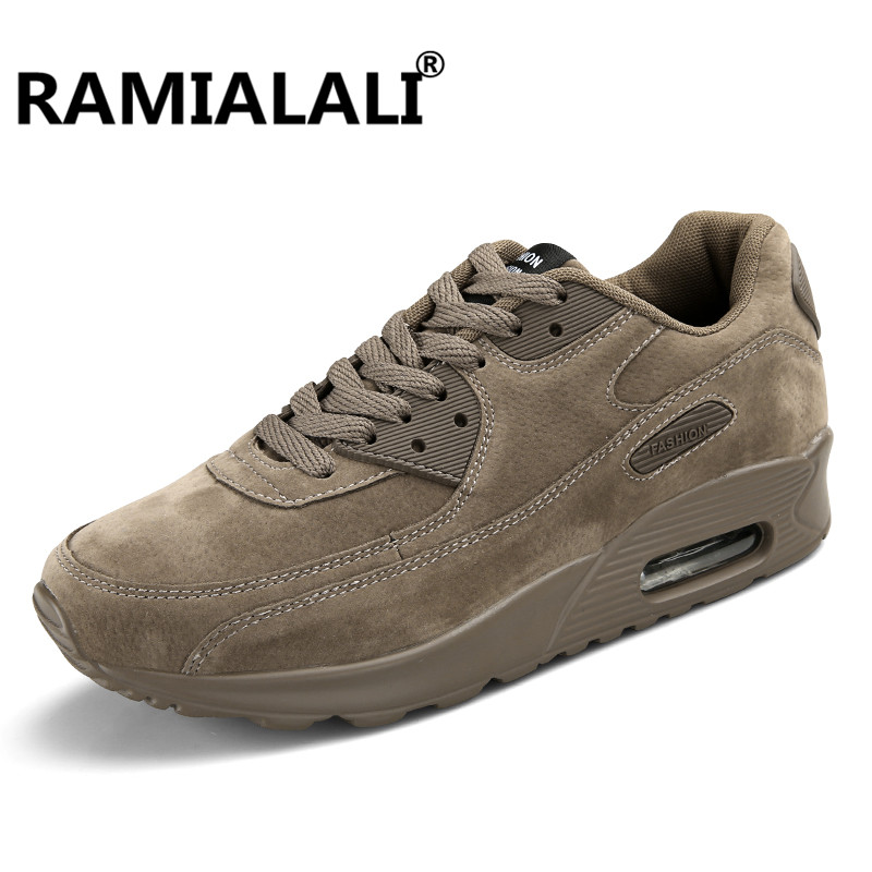 Ramialali Spring Autumn Running Shoes For Outdoor Comfortable Men Sneaker Men Breathable Sport Shoes Jogging Athletic Shoes