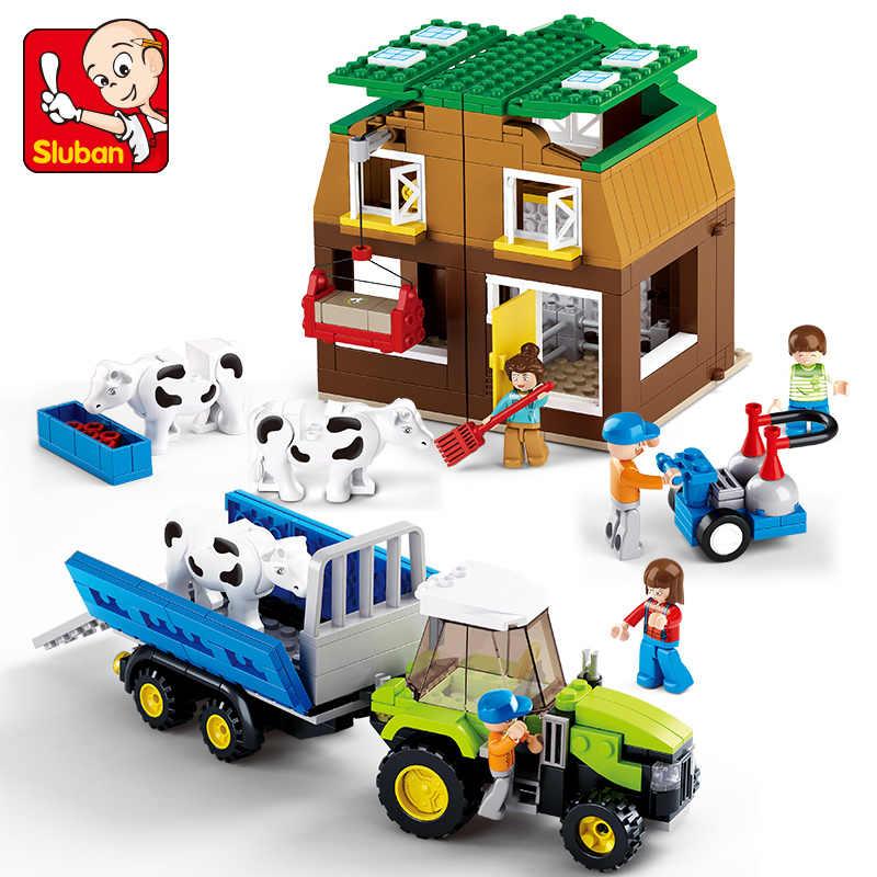Sluban Town Farm Bricks Set