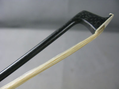 3 pcs strong plaid Carbon fiber violin bow 4/4,good balance