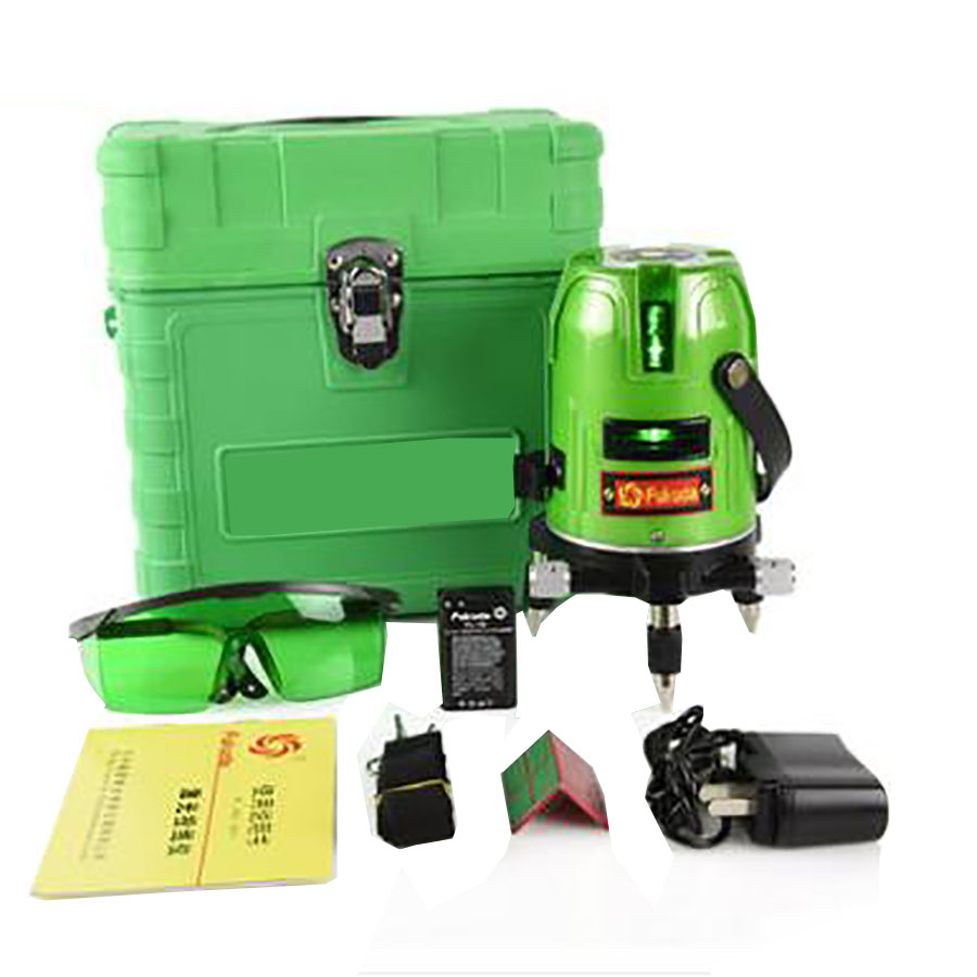 2 line 1 Point 360 Degree rotary Self leveling Green line Laser Level a8832g akg2 green laser level 2 lines1dot 360 degree rotary spirit level indoor outdoor dual use