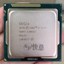 Intel Core i5-3570 I5 3570 İşlemci (6M Önbellek, 3.4 GHz) LGA1155 pc bilgisayar Masaüstü IŞLEMCI Dört Çekirdekli CPU