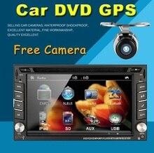 """6.2 """"LCD HD En Dash 2 Din Car Radio Reproductor de DVD vídeo Estéreo Navegación GPS Navigator Bluetooth TV Radio Volante MP3/4"""