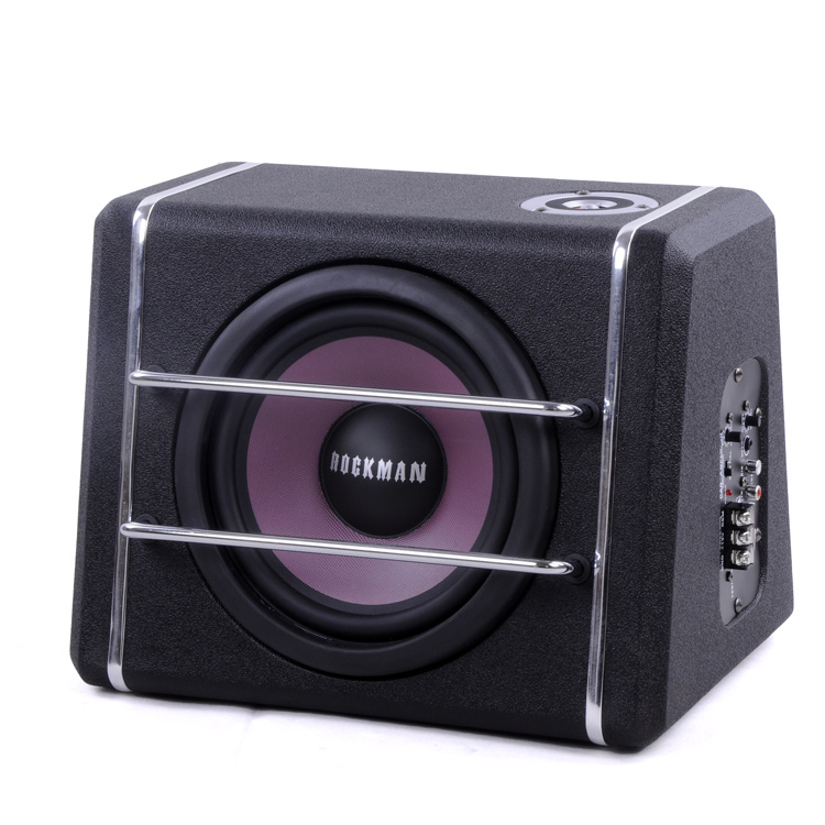8 inch 50Hz 250Hz High Power 150W car subwoofer, Active car Subwoofers Louder speakers 50mm copper
