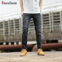 Bierelinnt 2017 New Fashion Brand Good Quality Elastic Retro Jeans Men Retail Wholesale Cotton Denim Men