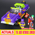 New 433Pcs Lepin 07046 Genuine Batman Movie Series The Joker`s Lowrider Set Building Blocks Bricks Educational Toys 70906