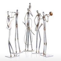 Orchestra Trumpet Tooarts Metal Sculpture Iron Sculpture Abstract Sculpture Modern Sculpture Band Instrument Home Decoration