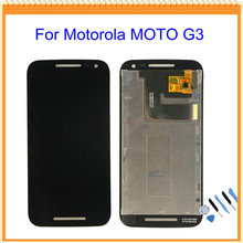 For Motorola Moto G3 LCD Display with Touch Screen Digitizer Assembly + Tools Free Shipping
