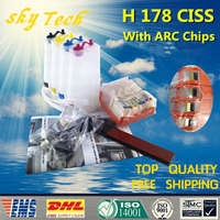 4 Colro Empty CISS For HP178XL , HP 178 CISS For HP 5520 4620 5510 6510 C5380 C6383 D5460 etc , With ARC Chips