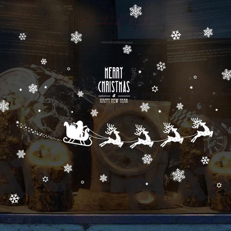 Christmas Decorative Window Stickers 3