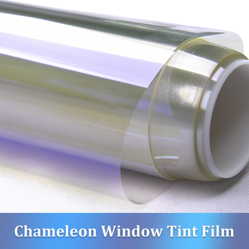 CARBINS Car Front Window Tint Film Windshield UV Privacy Protection 75 VLT Purple blue Chameleon Color
